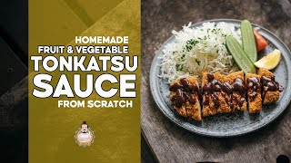 Homemade Tonkatsu Sauce | Easy Japanese Recipes