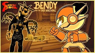 BENDY & THE INK MACHINE BOSS FIGHT! Combo Panda goes SUPER BOSS MODE!