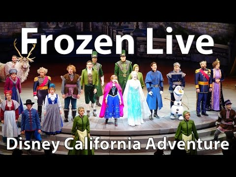 New Frozen Live Musical at Disney California Adventure (Full Show)