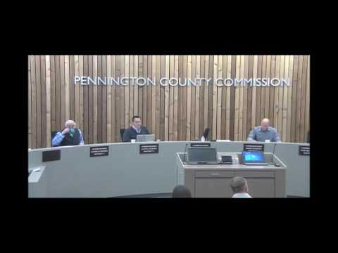 03-21-2017 Pennington County Board of Commissioners Meeting