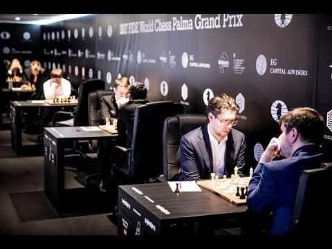 2017 FIDE GRAN PRIX AJEDREZ Ronda 9 (Palma de Mallorca)