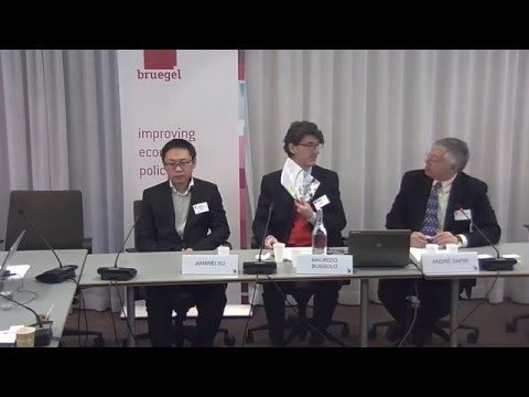 """Bruegel event """"Will China's slowdown bring headwinds or opportunities?"""" 29 April 2016"""