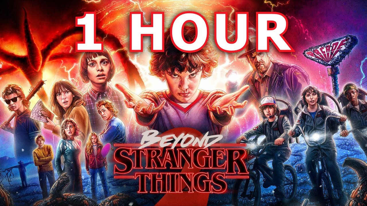 Beyond Stranger Things Theme Song C418 1 Hour Edition