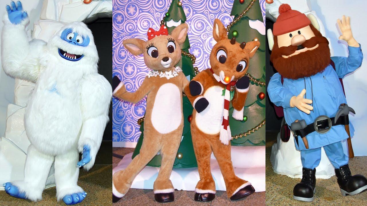 Rudolph Clarice Bumble Yukon Cornelius Meet Us At Rudolphs Christmastown Seaworld Orlando