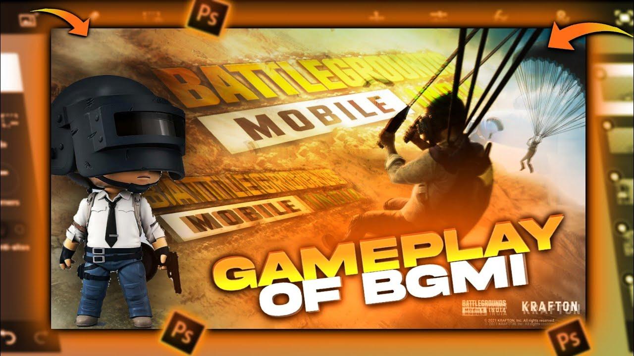 How to make thumbnail for bgmi | battleground mobile india | BGMI | pubg  mobile india | nonst - YouTube