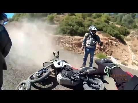 Motorcycle Crashing Conpolation