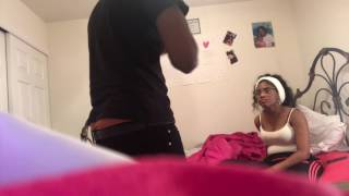 HICKEY PRANK ON BOYFRIEND!!! (PUNCHES WALL)😱😓