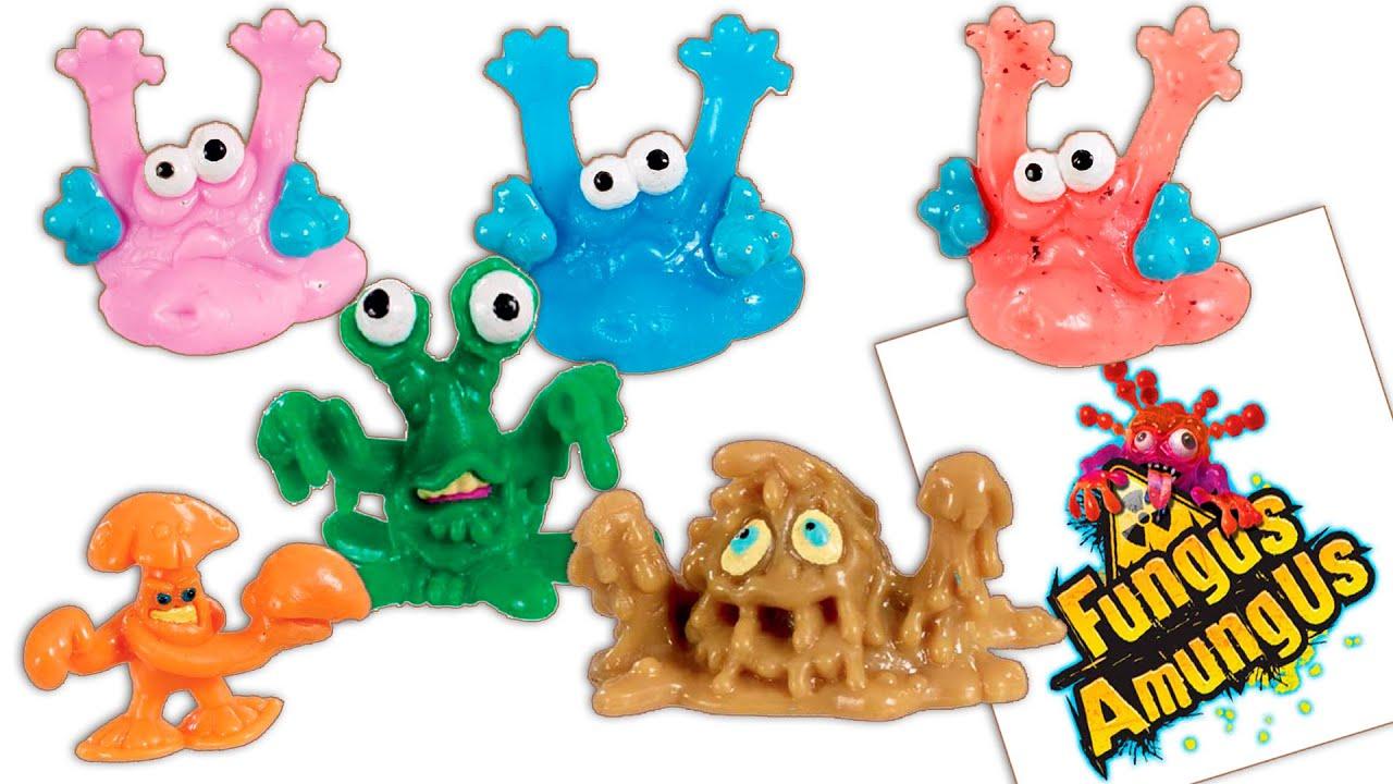 Игрушки Микробы и Бактерии Фунгус Амунгус - Доктор Даник .