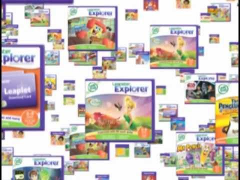 Leapfrog Leapster Explorer Games Ebooks And More Youtube