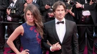 Ian Somerhalder and Nikki Reed on the red carpet of Youth in Cannes