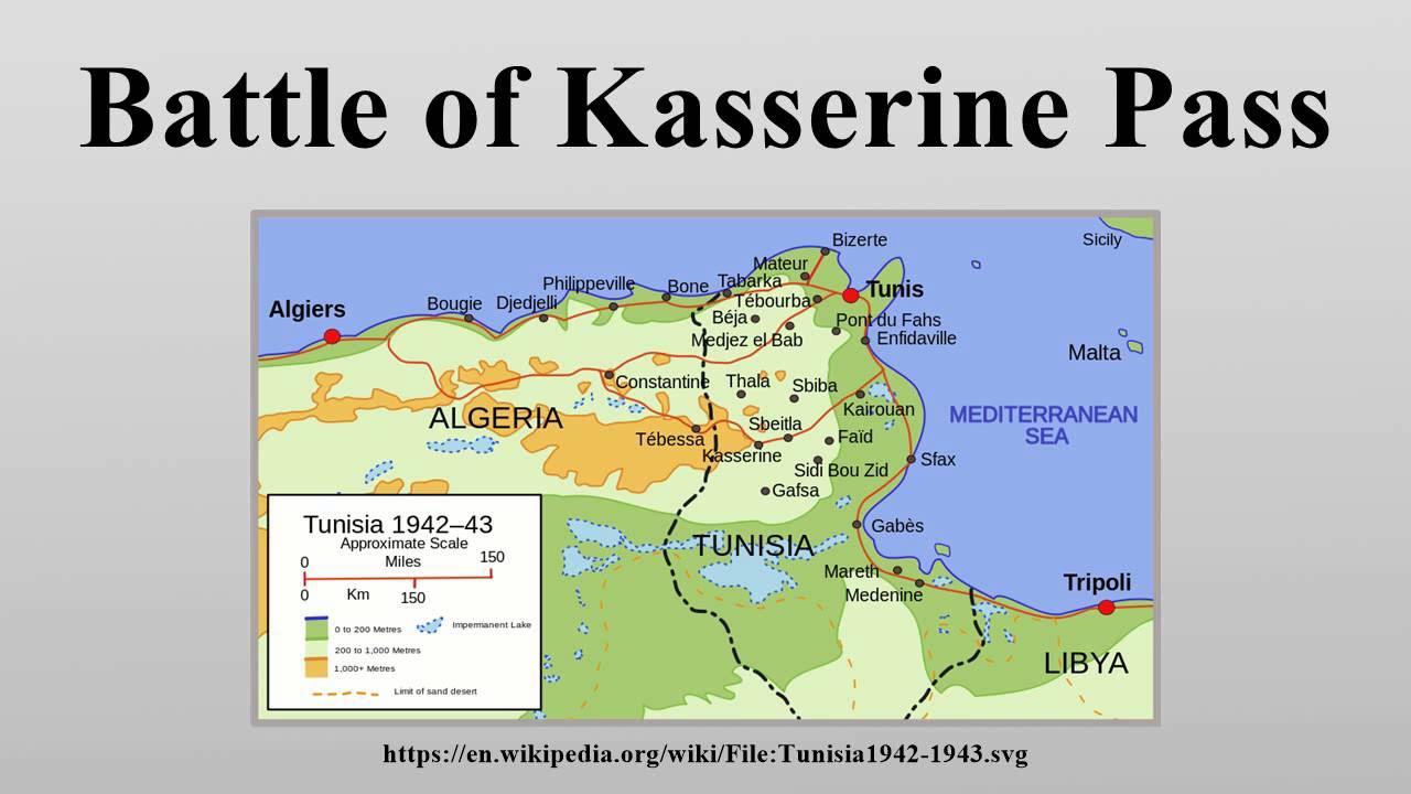 what happened at kasserine pass
