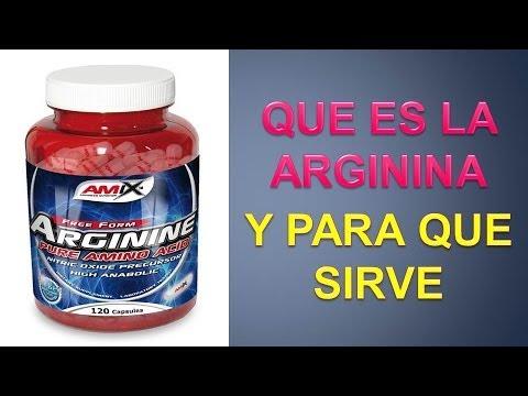 Arginina para que es