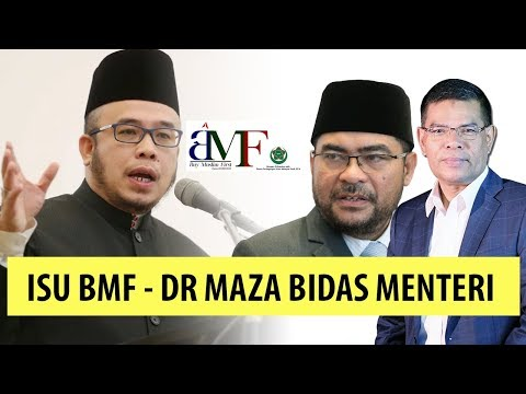 GERAM BETUL - Dr Maza Bidas Menteri Saifuddin & Menteri Mujahid Dalam Isu BMF