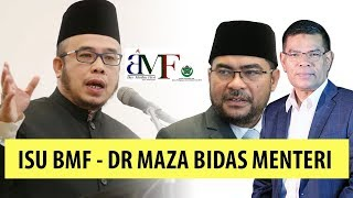 GERAM BETUL - Dr Maza Bidas Menteri Saifuddin \u0026 Menteri Mujahid Dalam Isu BMF