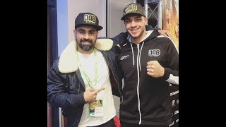 TOMMY FURY AFTER 1ST ROUND KO!