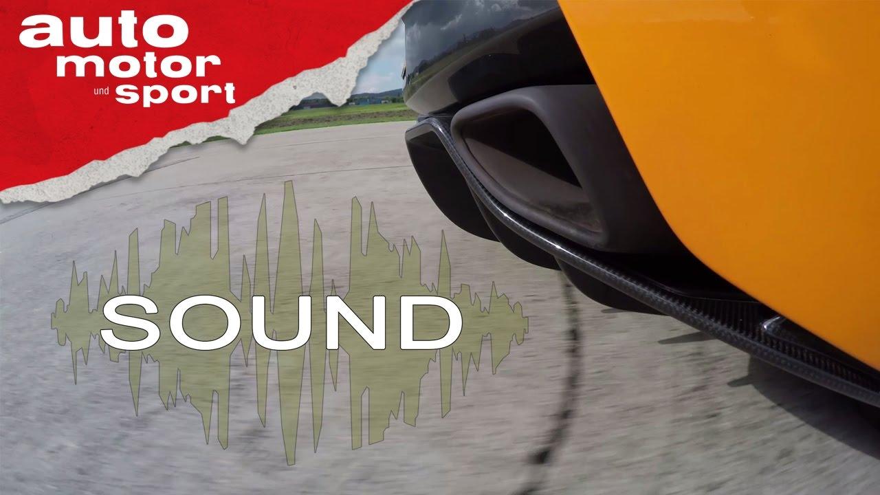 mclaren 570s - sound   auto motor und sport - youtube