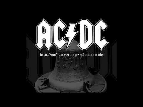 ACDC  Hells bells vocal