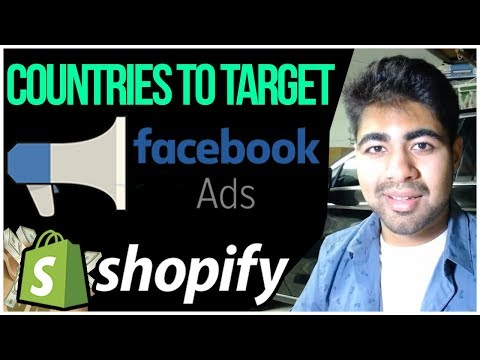 TOP Countries To Target Facebook Ads For Shopify Dropshipping In 2019 thumbnail