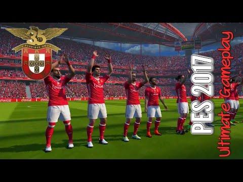 PES 2017: SL Benfica - Legia Warsaw (PC 1080p 60FPS Galaxy Fruits Mods Estarlen Stadium Patch)