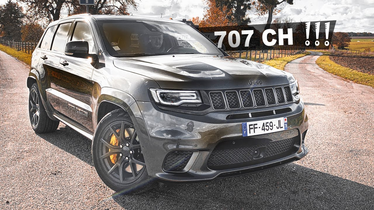 Jeep Trackhawk 2020 V8 707 Ch Le Plus Extreme Youtube