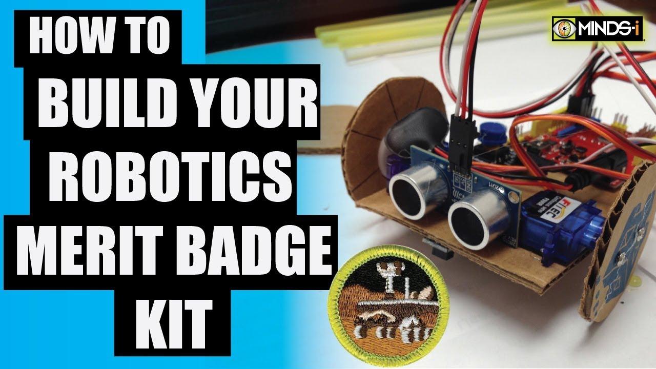 Robotics Merit Badge Kit Tips And Tricks Youtube
