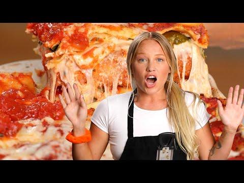 Tasty Behind the Dish: Mozzarella Stick Lasagna // Presented By ScotchBrite