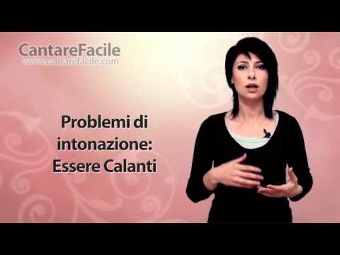 Problemi di intonazione: Essere Calanti - Lezioni di Canto #63
