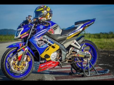 Video Modifikasi Motor Yamaha New Vixion Lighting Paling Keren Terbaru
