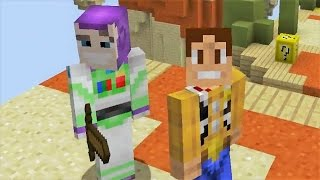BUZZ LIGHTYEAR Y WOODY EN MINECRAFT!