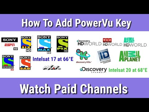 BIG BREAKING NEWS Watch All Paid Channels || How To Add PowerVu Key