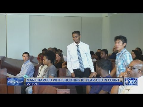 Man charged with shooting Durham 10-year-old out on bond