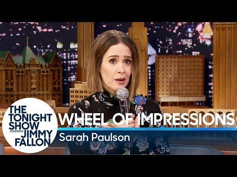 Thumbnail: Wheel of Impressions with Sarah Paulson