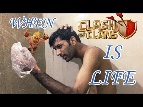 Clash of Clan Indian Addict - Funny Video Comedy 2017 - RNZ Vines