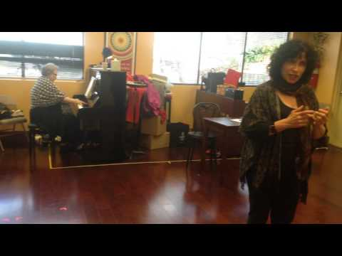 """""""Three Decembers"""" Rehearsal - First Christmas  Letter - Part 1"""