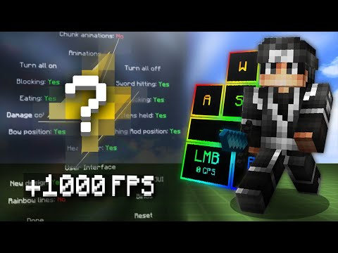 NEW Minecraft PVP FPS Boost Client 1.8 ⚡