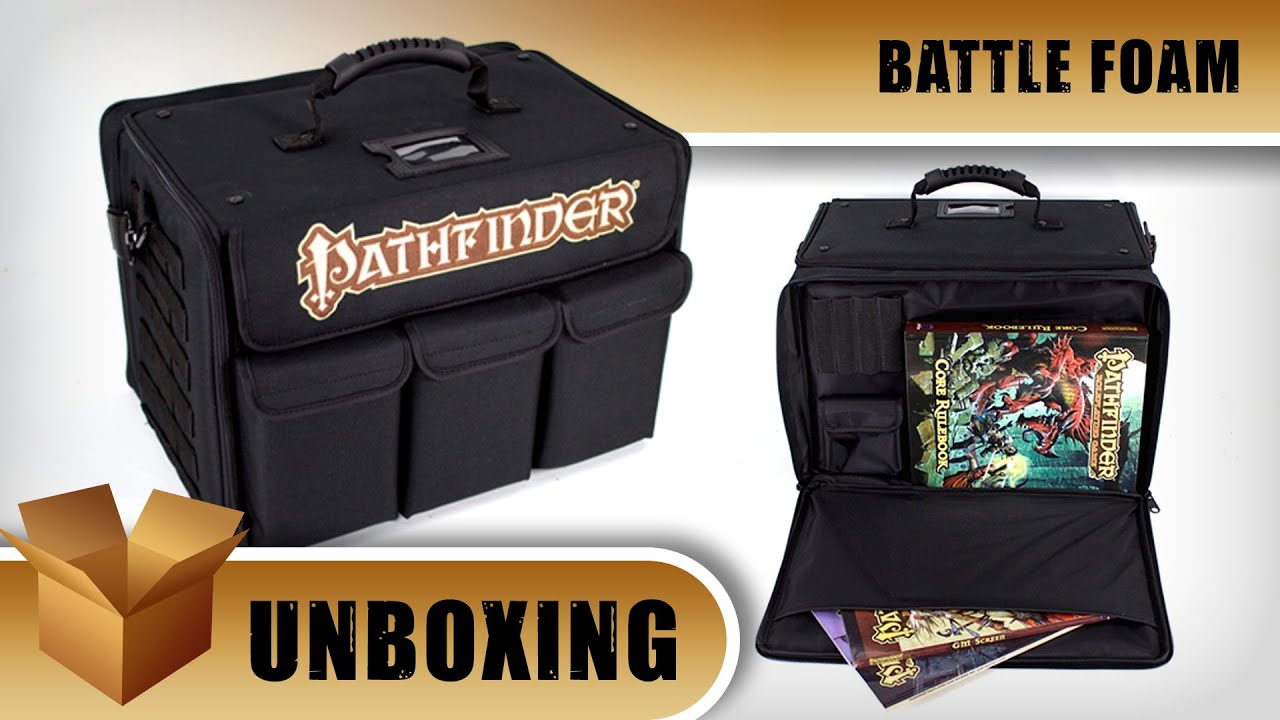 Unboxing Battle Foam Pathfinder Bag Ontabletop Home Of Beasts Of War Not so happy with the picture which i should probably have got the. unboxing battle foam pathfinder bag