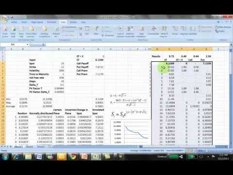 Pricing binary options monte carlo simulation excel
