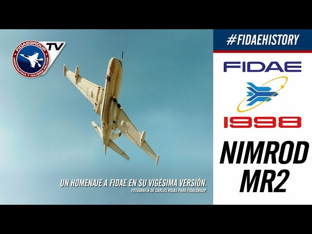 Nimrod Mr2 de la RAF en FIDAE 1998, Los Cerrillos, Incredible demostration