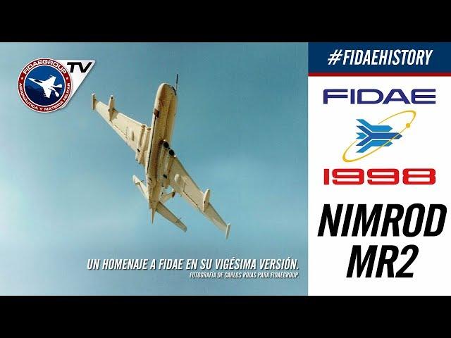 Nimrod Mr2 de la RAF en FIDAE 1998, Los Cerrillos, Incredible demostration