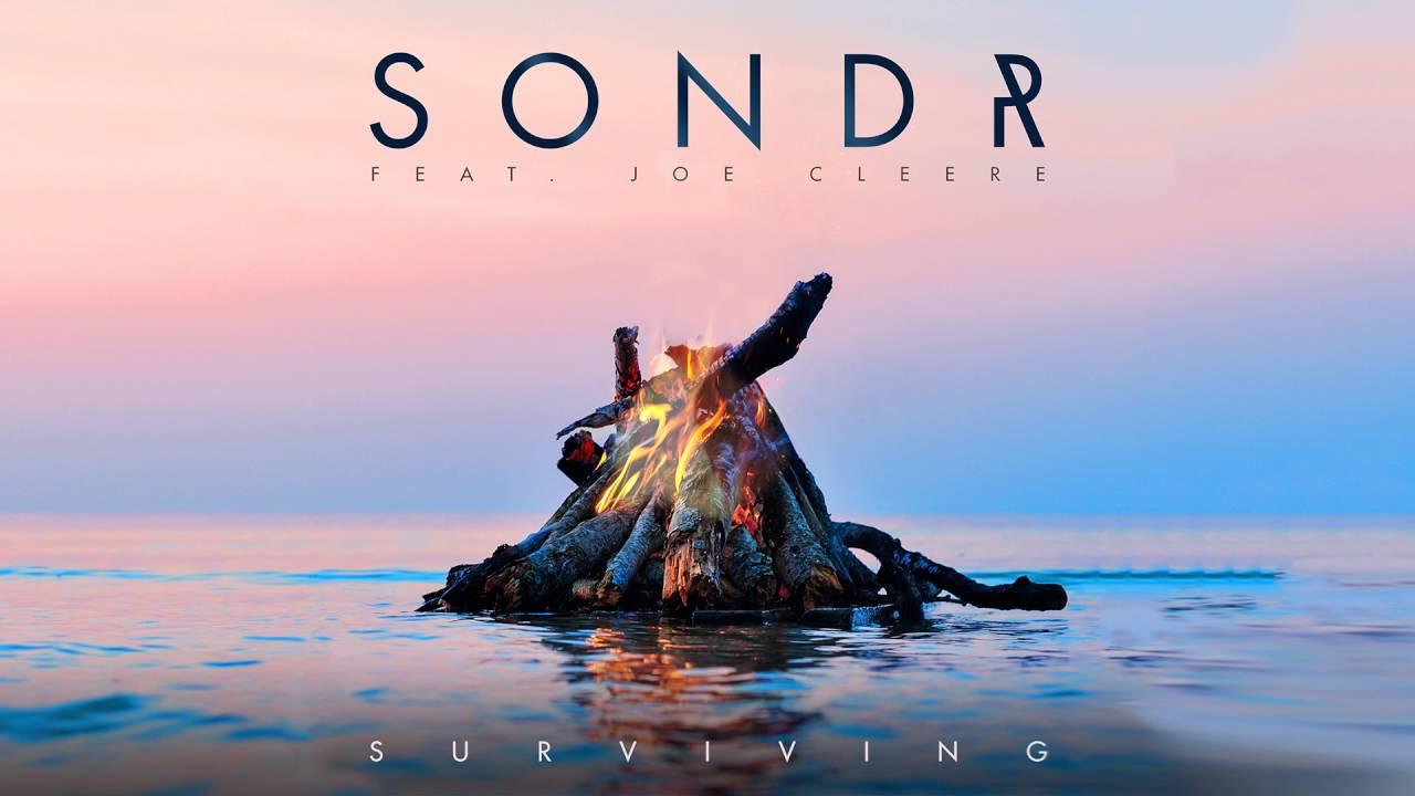 sondr surviving feat joe cleere cover art youtube