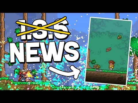 Terraria 1.3.6 - Exciting (and Mysterious) New Spoiler! (2018 Update!)