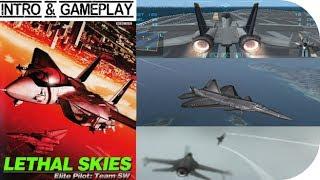 Lethal Skies Elite Pilot: Team SW ( Sidewinder F ) Intro & Begin Gameplay ( PS2 HD )