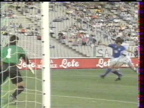1996 (May 28) Italy 1-France 0 (Under-21 Semifinals)