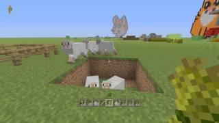 Minecraft PS3 + PS4   Animal Farm Tutorial (Farming Tutorial 8/10)