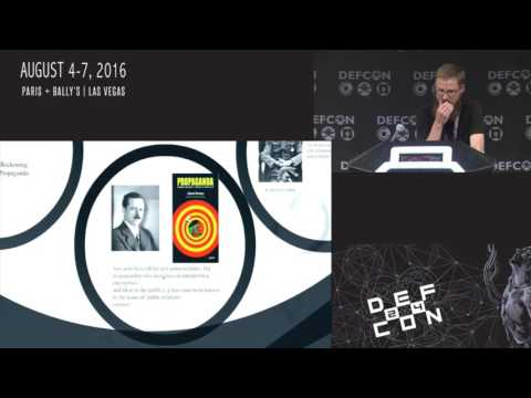 DEF CON 24 - The Bob Ross Fan Club - Propaganda: You and your devices