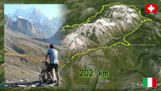 Tour du Mont Blanc by MTB (trailer)