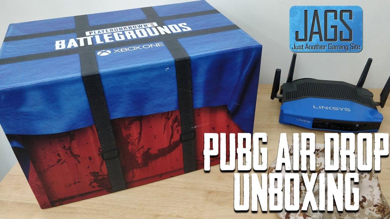 PUBG Air Drop Unboxing   PUBG Xbox Crate   PUBG Xbox One   PUBG loot crate