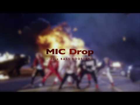 [3D + BASSBOOSTED] BTS (방탄소년단) -  [MIC Drop (Feat. Designer) [Steve Aoki Remix]