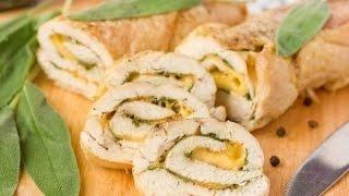 Куриный рулет с сыром
