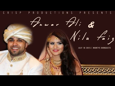 Nilu & Anwar's Wedding Video Highlights | 2015 | CRISP Productions | Chicago